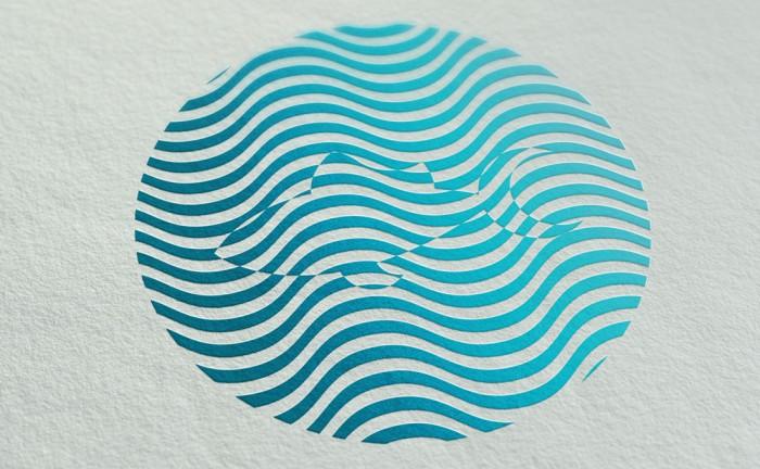 Logotipo el susurro de los atunes
