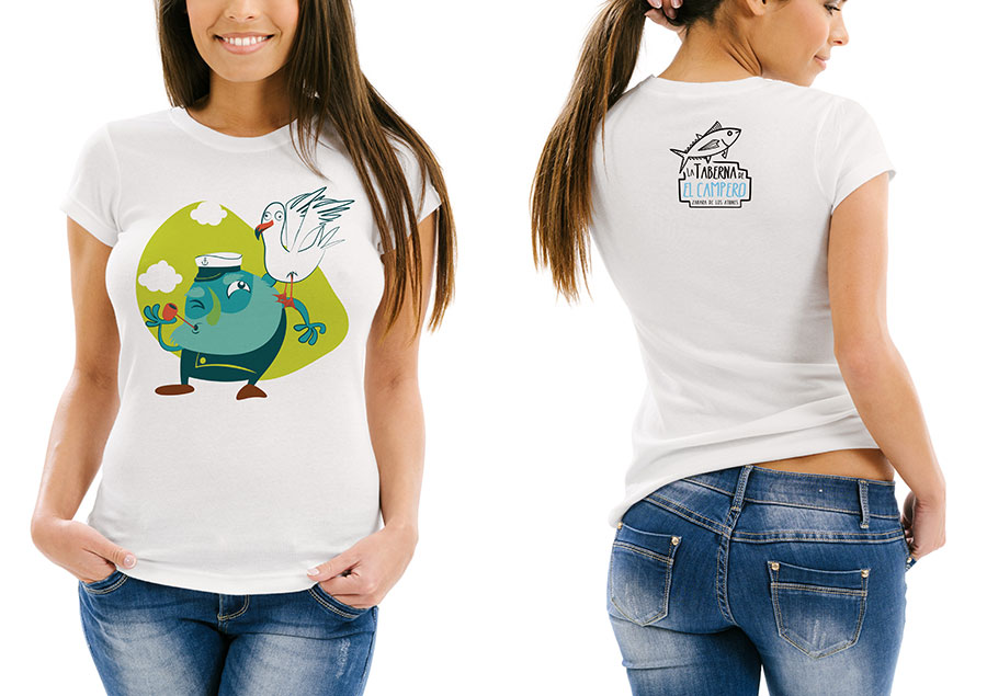 Camisetas de la Taberna del Campero