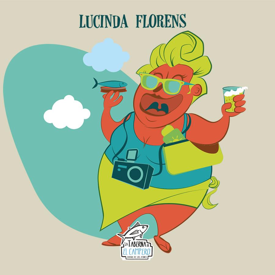Lucinda florens la taberna del campero