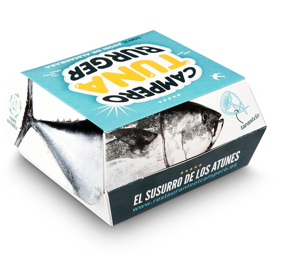 Packaging Campero Burguer Tuna