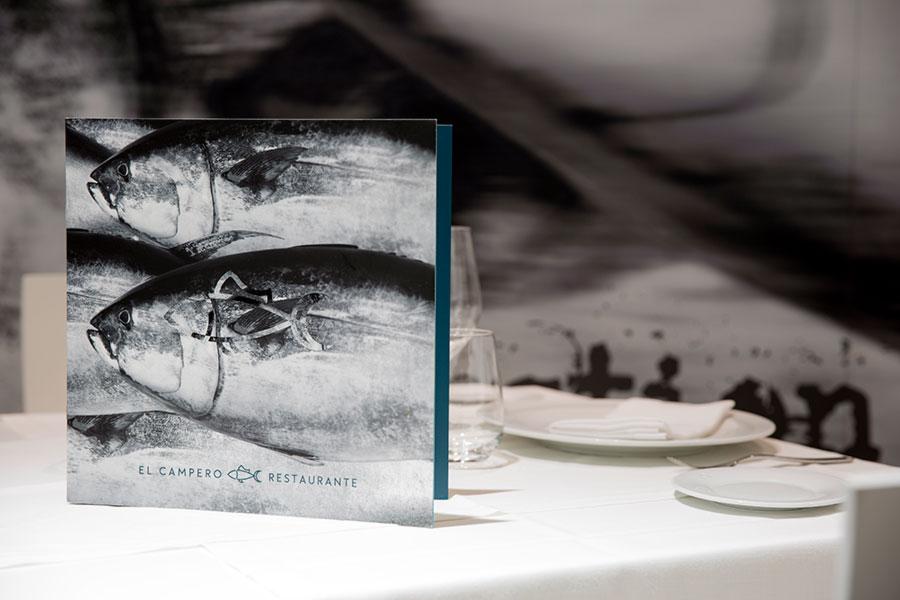Cartas del Restaurante El Campero