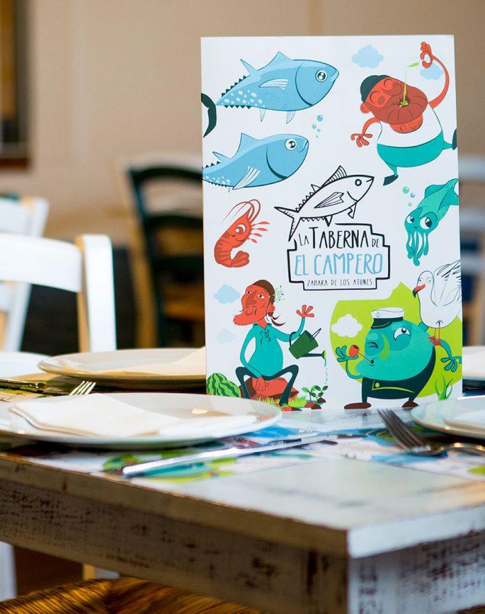 Diseño de cartas de restaurante