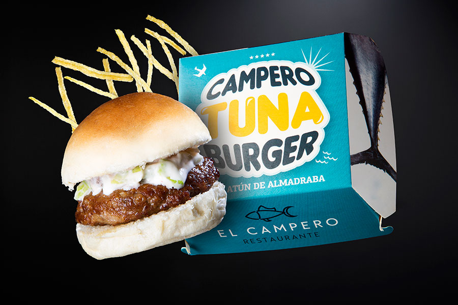 Tuna burger - La Taberna del Campero