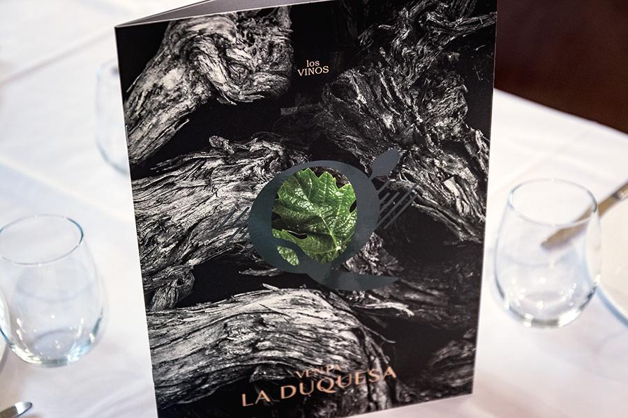 Diseño de cartas restaurante venta la duquesa