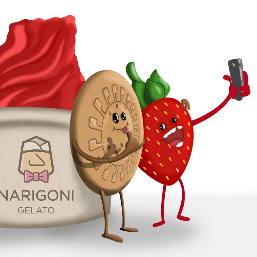 Ilustración para la campaña de Narigoni