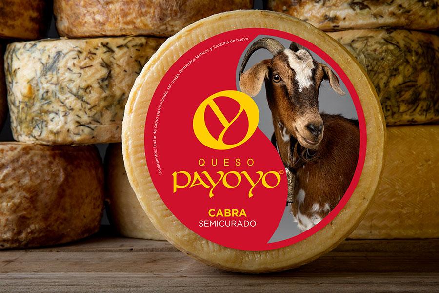Diseño de etiqueta queso payoyo