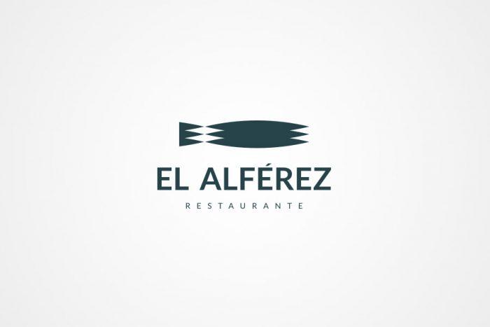 logotipo restaurante el alférez