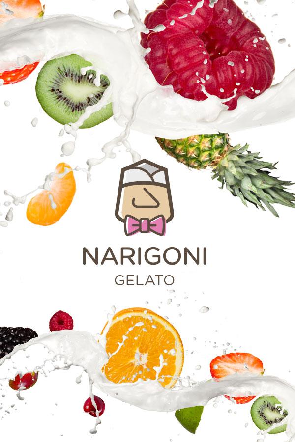diseño web para narigoni gelato